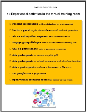 10 Experiential Learning Activities Online for Better Webinars